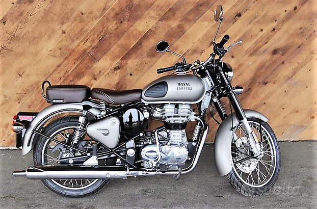 NEW Royal Enfield BULLET 500 Classic MATT GRAY