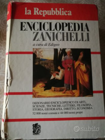 Dizionario italiano enciclopedico