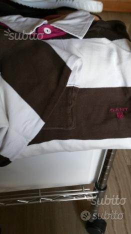 Polo manica lunga Gant tg. XL uomo