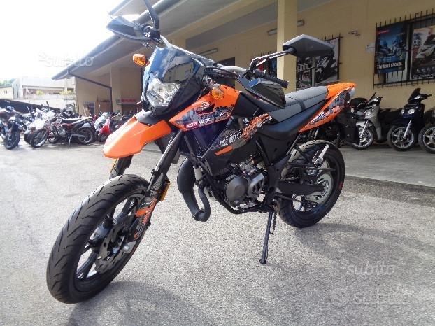 NUOVO supermotard ksr tr 50 racing arancione