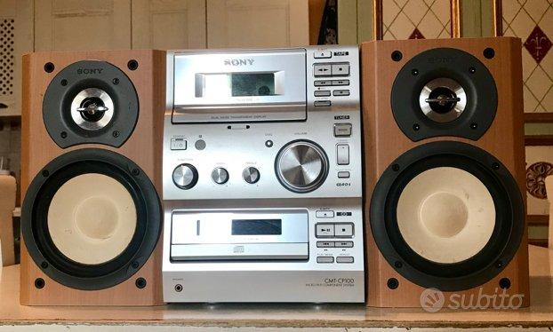 Sony CMT-CP100 più circa 450 CD
