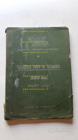 Moto Morini 250 Settebello GT catalogo ricambi