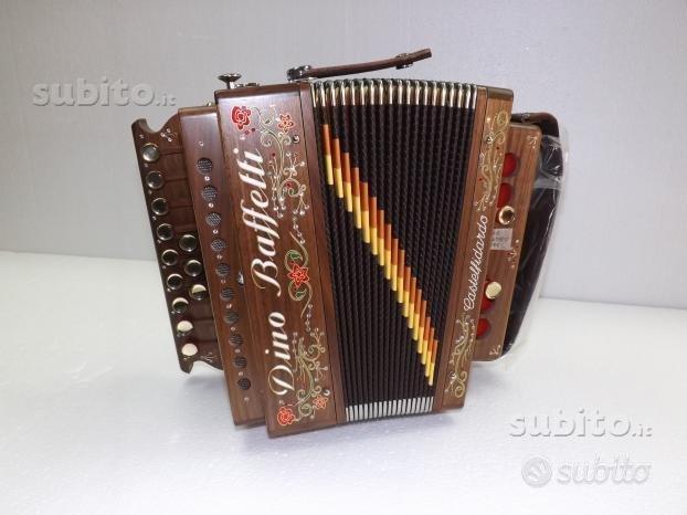 Organetto 2 bassi art.28