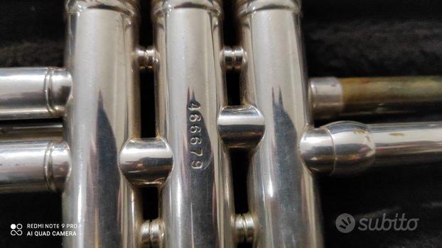 Tromba Bach Stradivarius ML 37 Silver
