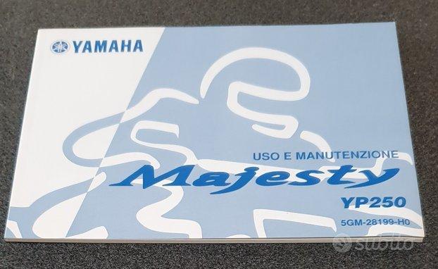 Uso e manutenzione manuale yamaha majesty 250 yp