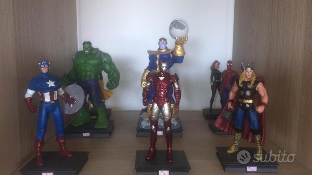 Statuette Marvel heroes 3D