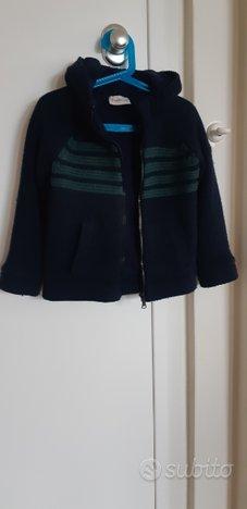 Giacca / maglioncino zip lana/pile Moncler tg4