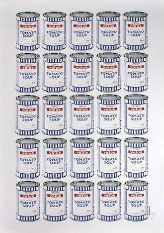 Banksy - Tesco Soup Cans