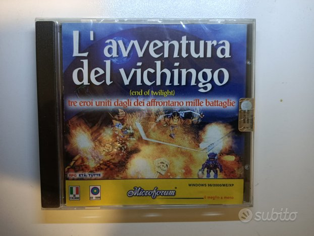 PC game del 2002 L'Avventura del Vichingo