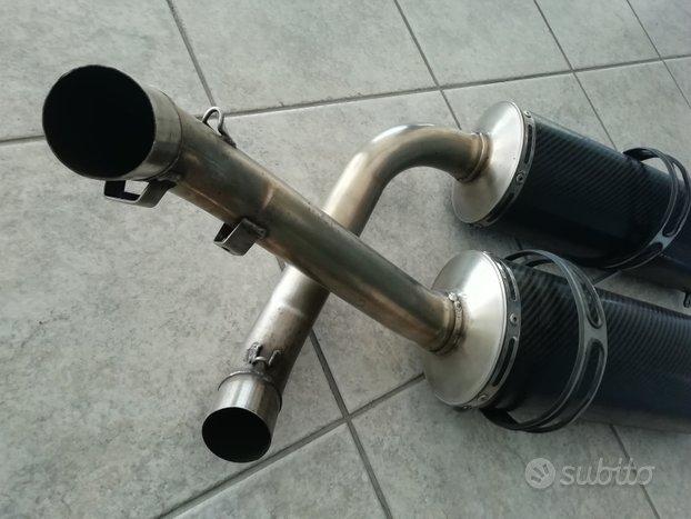 Silenziatori in carbonio per Ducati 789/996/916