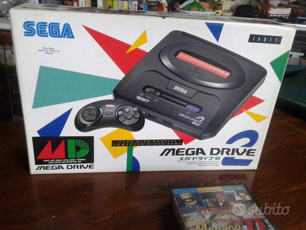 Sega megadrive 2 jap + super monaco gp