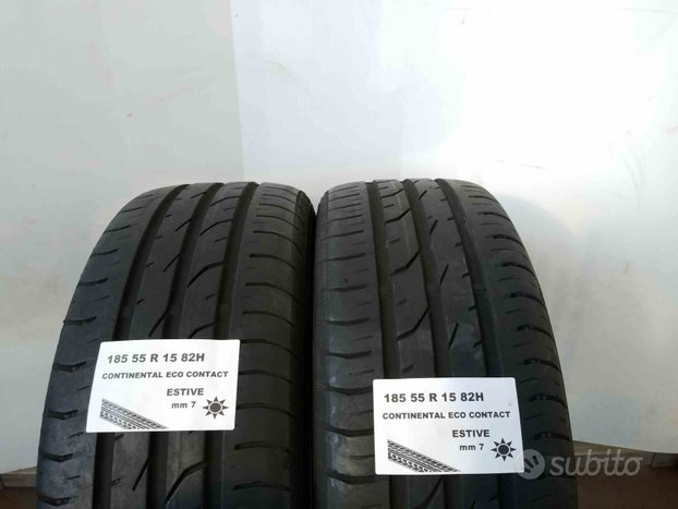 Gomme usate 185 55 r 15 continental