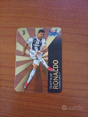 Card Topps crystal champions Cristiano Ronaldo