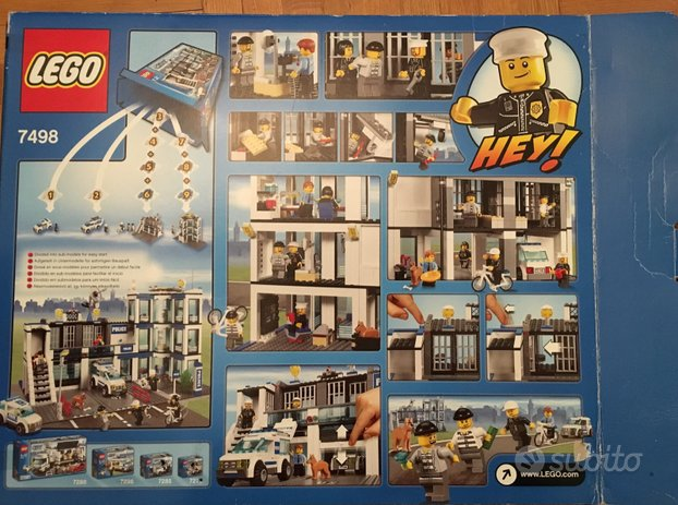 Lego City 7498 Commissariato di polizia