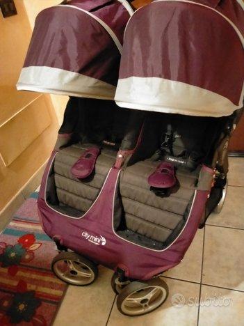 Passeggino gemellare Baby jogger city mini