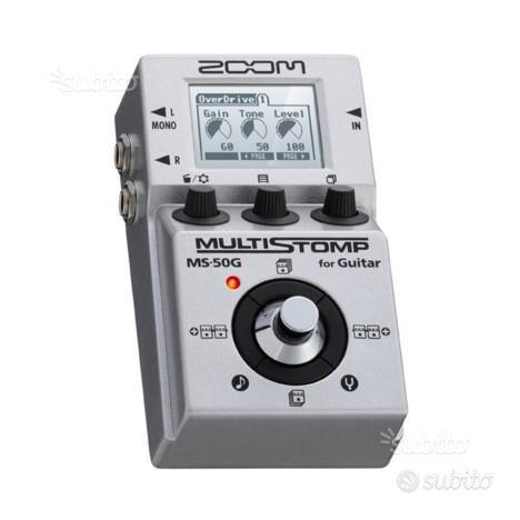 Multieffetto Zoom MS-50G Multistomp