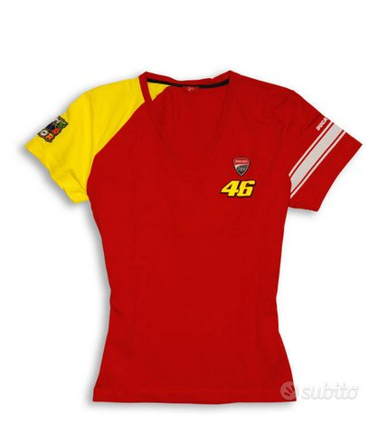 T-shirt donna Ducati VR 46 - tg. S