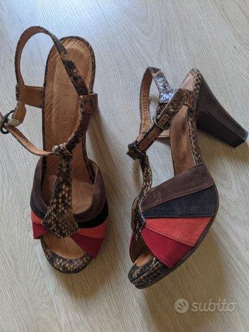 Chie mihara xope scarpe tacco 37 donna