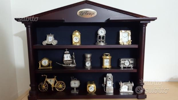 Cofanetto orologi da collezione