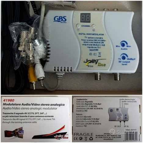Modulatore RF e ripetitore di telecomando