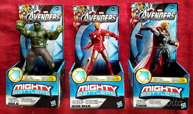 AVENGERS MIGHTY BATTLERS 3 action figures Hasbro