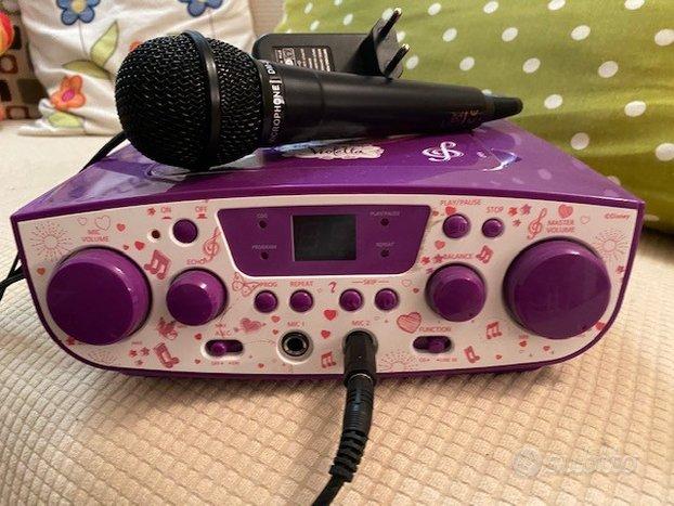 Canta Tu Karaoke System Violetta