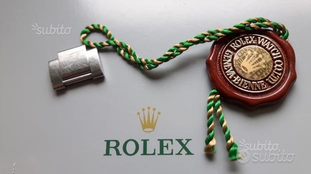 Rolex maglia acciaio satinato e ologramma