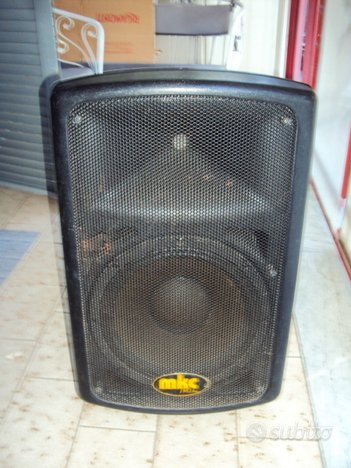 Cassa amplificata mkc pro line fp 215 a