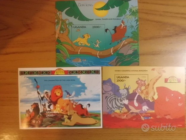 The Lion King Stamps