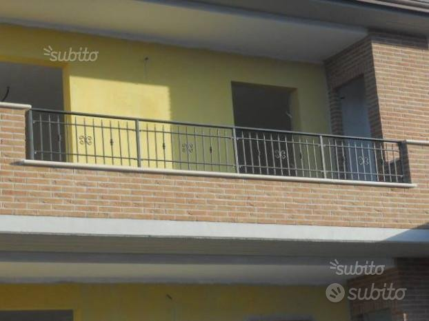 Balaustre per balconi in ferro