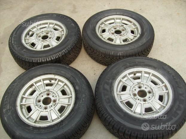 4 cerchi Cromodora completi di pneumatico