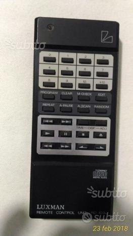 Telecomando cd player Luxman