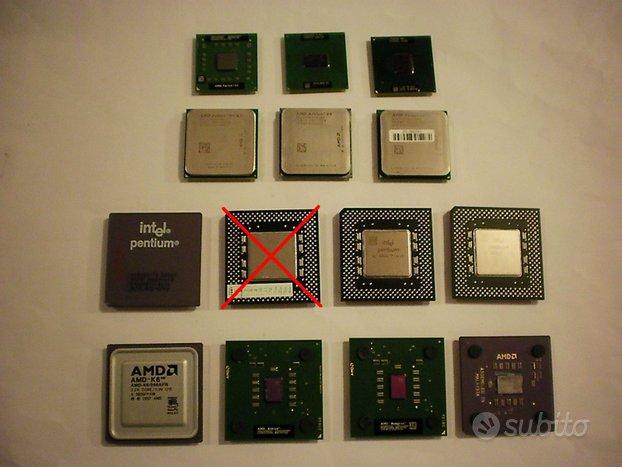 13 CPU Processori vecchia generazione (da testare)