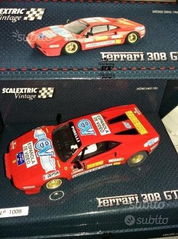 Slot car Scalextric Scx Ferrari 308 GTB Nuova