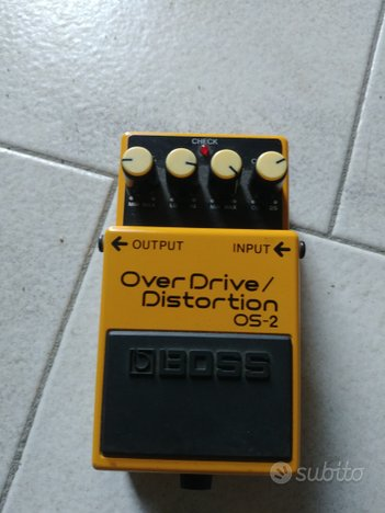 Pedale Boss Overdrive