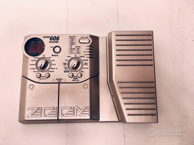 Zoom 606 Pedaliera Multieffetto per Chitarra