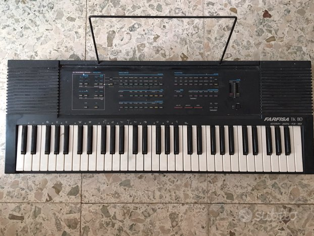 Tastiera Farfisa Tk 110