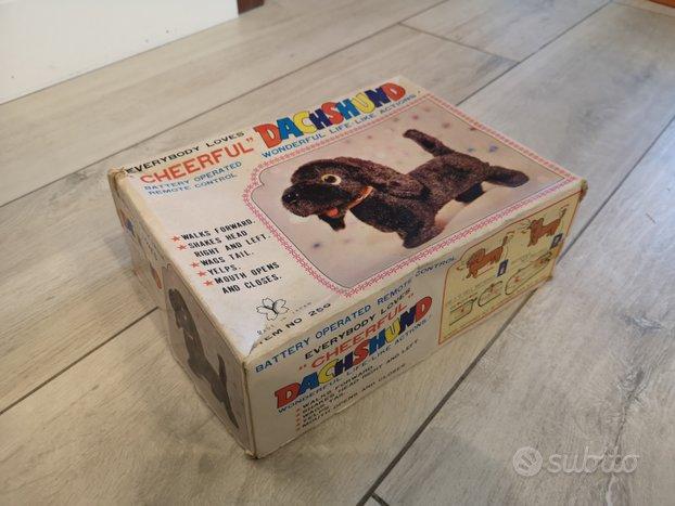 Cane giocattolo anni 60