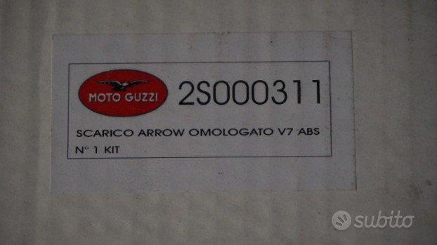 Moto guzzi V 7 II scarico ARROW scrambler