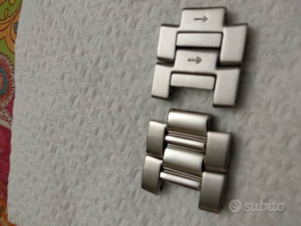 4 MAGLIE X Braccialetto metallo SEIKO Samurai SNM0