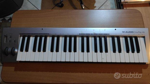 Tastiera MIDI M-AUDIO KeyRig 49