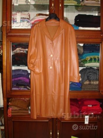 Cappotto pelle donna