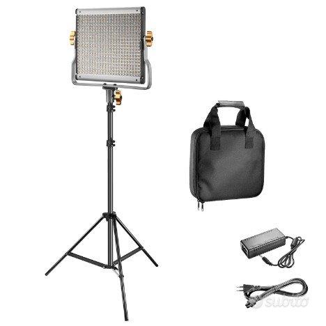 Pannello Luce 480 LED Bicolore 3200-5600 K nuovo