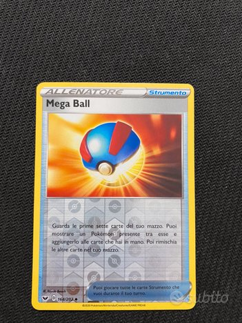 Carta Pokémon Mega Ball