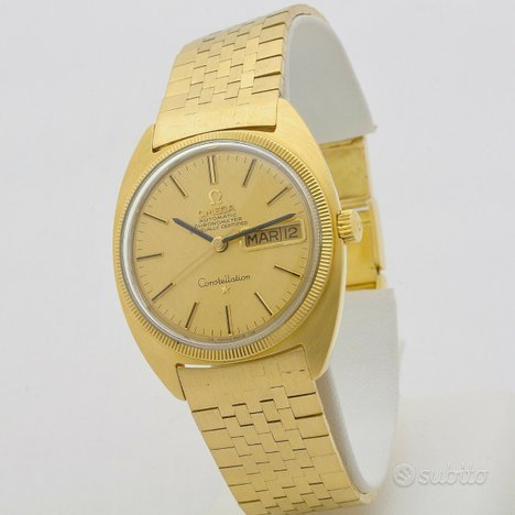 Omega Constellation Day-date oro 18 kt automatico