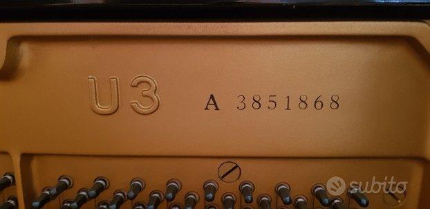 Yahama U3A pianoforte Verticale