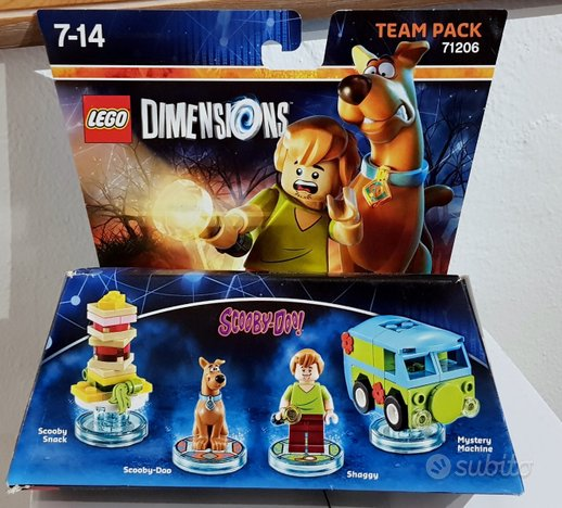 Lego Dimensions Scooby-Doo Team Pack 71206
