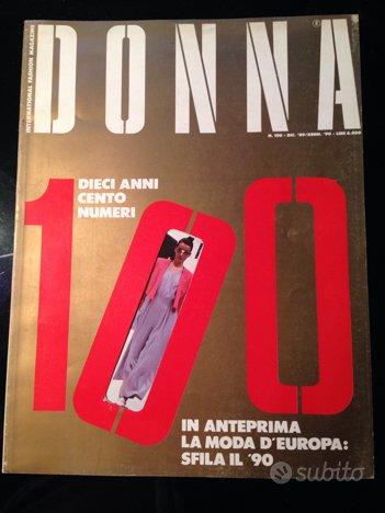 Rivista moda Donna anni 80