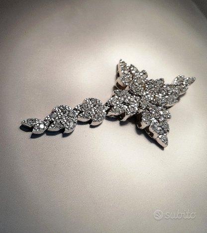 Pendente croce argento 925 alta bigiotteria