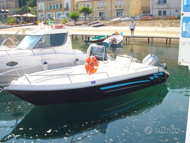 Barca terminal boat 5,6 mt motore honda hp 40